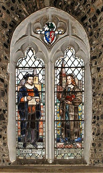 George Herbert stained glass window